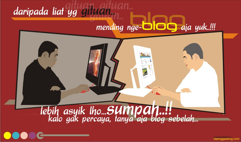 Kampanye Blog Ala Daenggasing