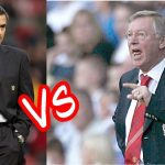 Reuni Jose Mourinho dan Sir Alex Ferguson