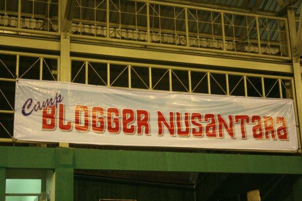 Blogger Nusantara ; Cerita dari Camp
