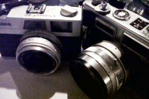 Kamera SLR Analog
