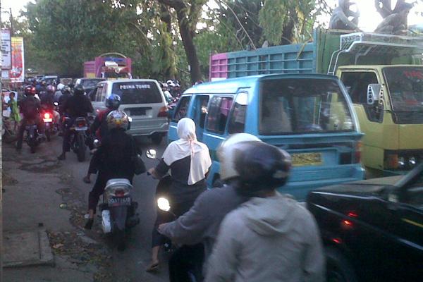Macet Kota Makassar