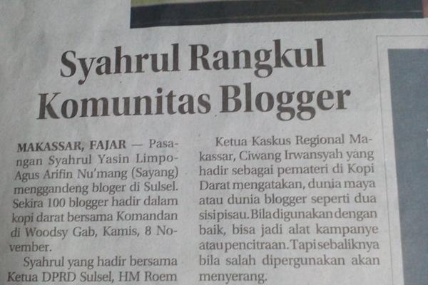 Kami Bukan Blogger SAYANG
