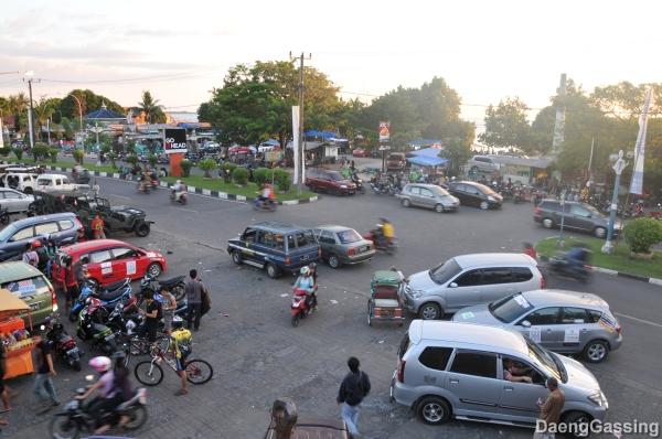 Satu sudut kota Makassar