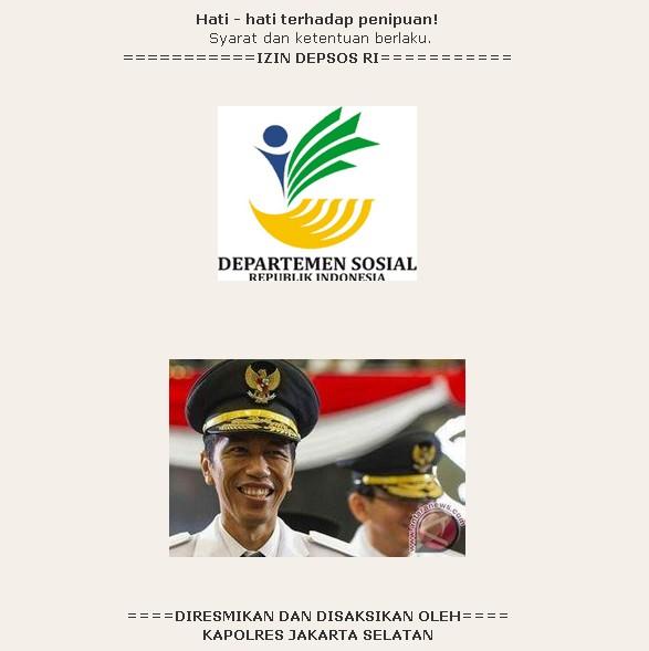 Jokowipun ikut dijual