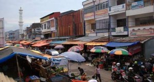 Salah satu sudut pasar Terong (foto: Makassarnolkm)