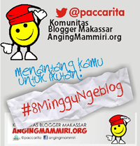 8 Minggu Ngeblog