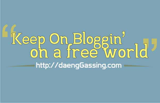 Keep On Bloggin' In A Free World