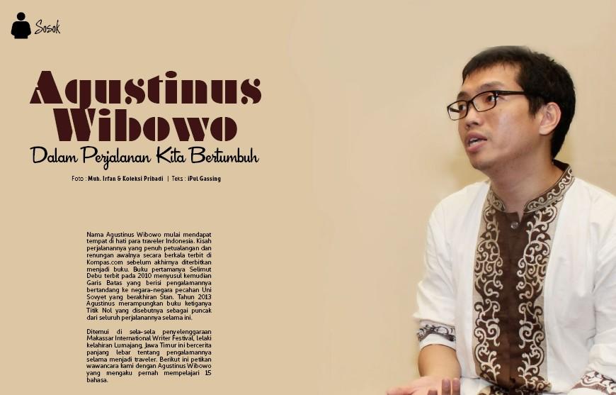 Agustinus Wibowo di Majalah Pradha