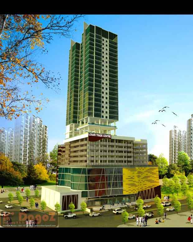 Lsoari Trade Center (sumber: SkyScrapperCity.com)