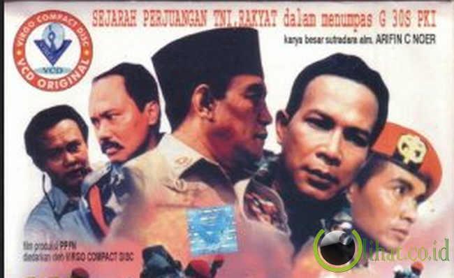 Poster Film Pengkhiatan G30S/PKI (sumber; lihat.co.id)
