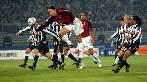 Filippo Inzaghi, dari Juventus ke AC Milan