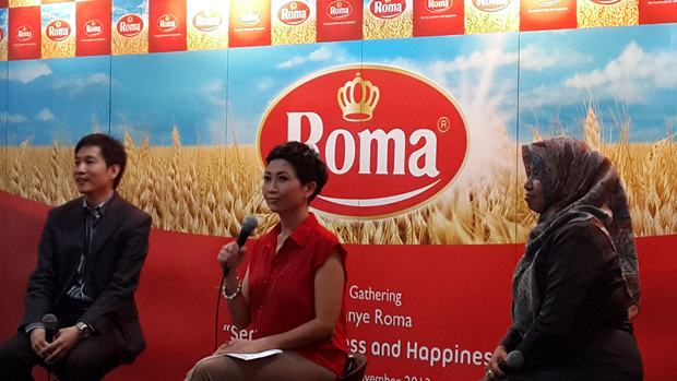 Acara launching biskuit Roma