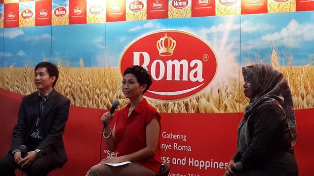 Acara launching biskuit Roma