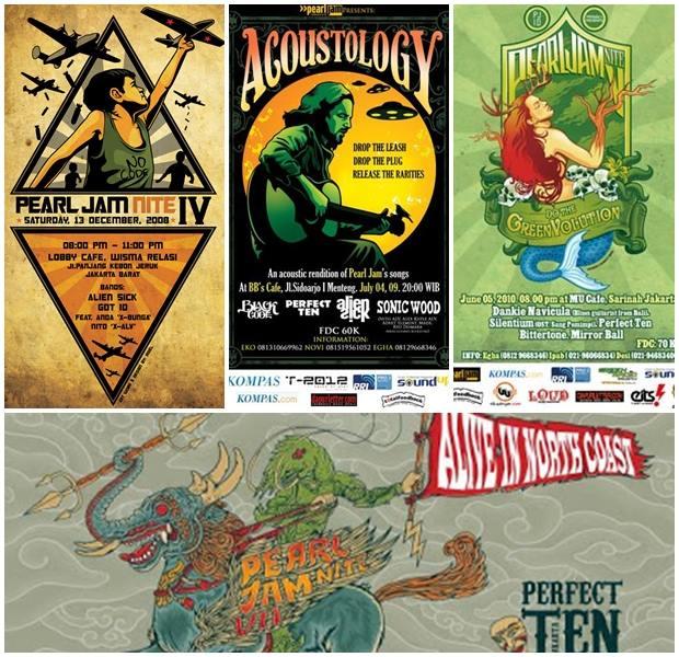 Poster Pearl Jam Nite