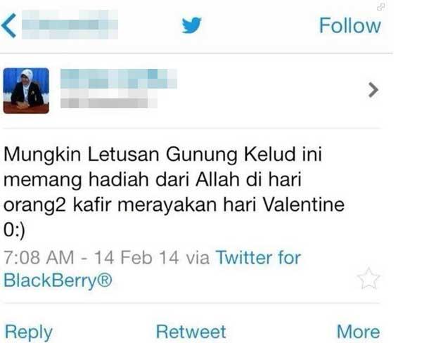 Twit Pembawa Bencana Itu