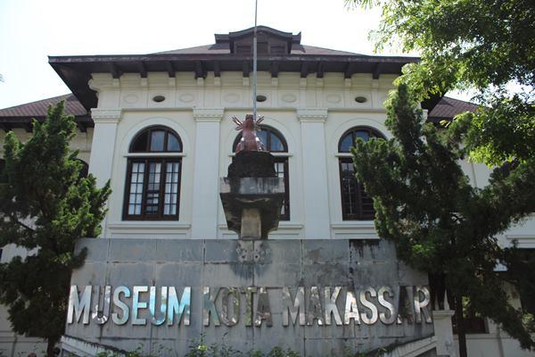 Bagian depan Museum Kota Makassar