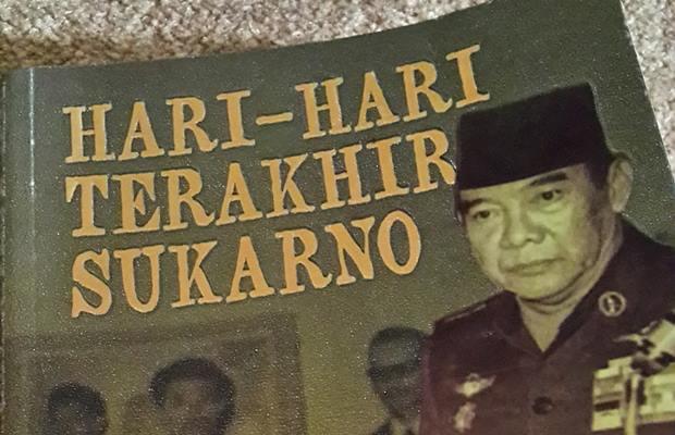 Sampul depan Hari-Hari Terakhir Sukarno