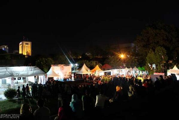 Keriuhan malam kedua PKM 2014