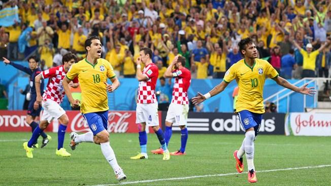 Kegembiraan Neymar, Kegembiraan Brasil
