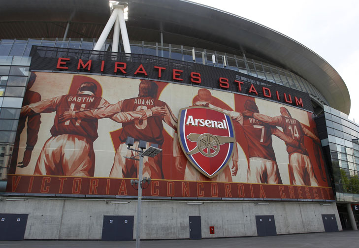 Emirates Stadium, salah satu stadion megah di London