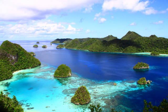Indahnya Raja Ampat; sumber: Indonesia.Travel