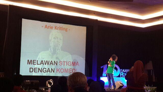 Arie Kriting dan presentasinya