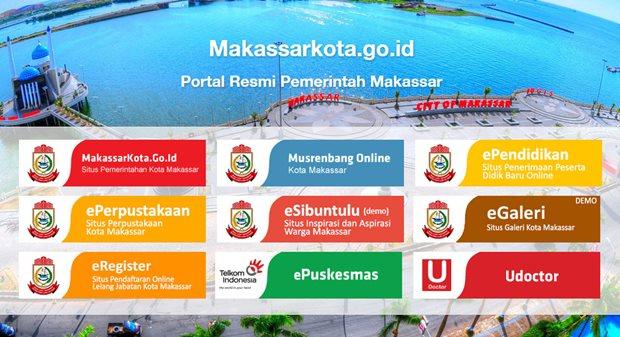 Website resmi kota Makassar