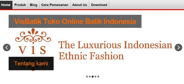 Website VisBatik