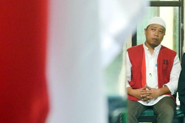 Fadhli Rahim, terpidana kasus UU ITE di Gowa. (foto: Iqbal Lubis)