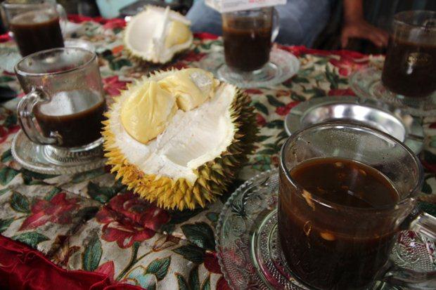 kopi durian alias kopi dandu