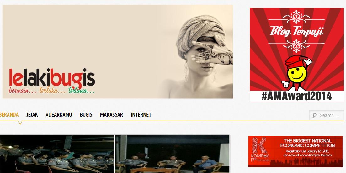 Blog Lelakibugis.net