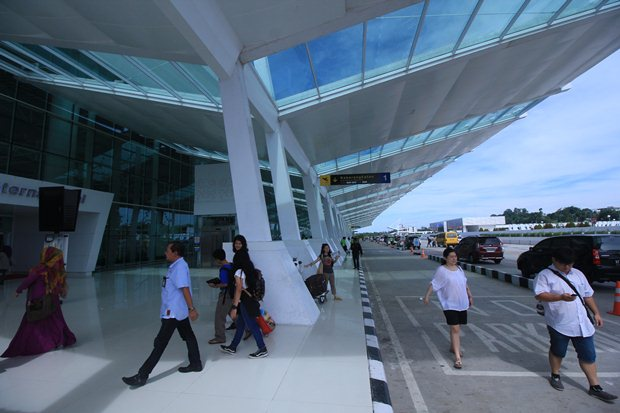 Eksterior bandara Sultan Aji Muhammad Sulaiman, Sepinggan