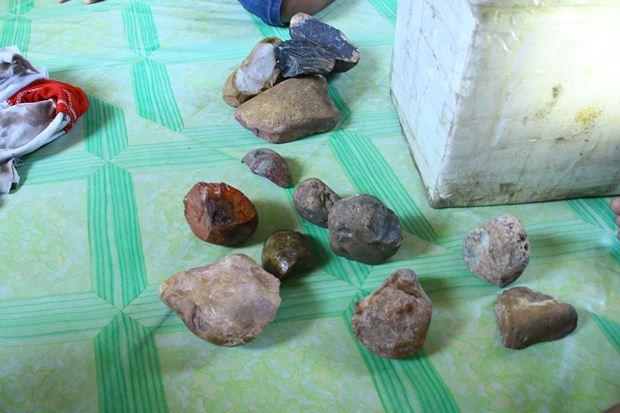 Ragam batu akik dari Kalimantan