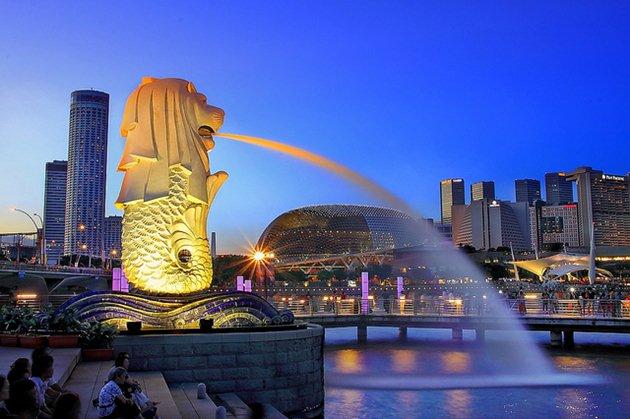 Ini ikon Singapura yang paling sering difoto