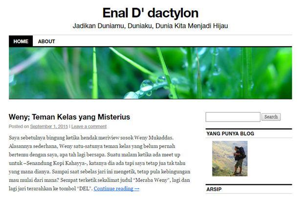 Header blog Enal
