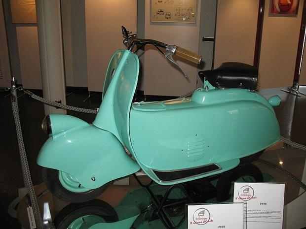 Purwarupa MP5 yang pertama dibuat Piaggio (foto: Wikipedia)