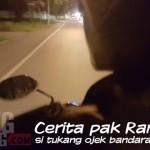 Cerita Pak Ramli si Tukang Ojek Bandara