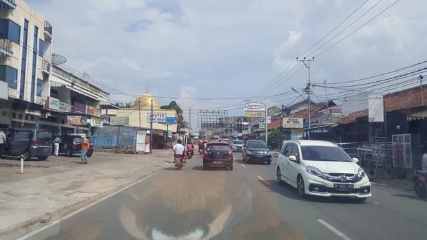 Satu sisi kota Jambi