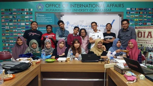 Bersama peserta, pemateri dan panitia workshop