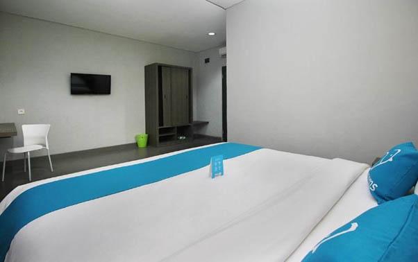 Kamar hotel Airy Pakuan Bogor (sumber : airyrooms.com)
