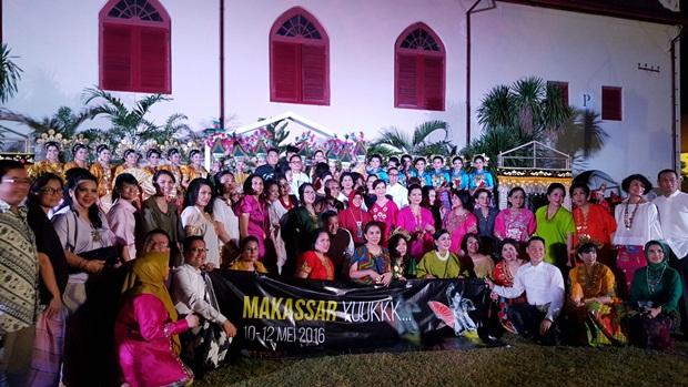 Para tetamu dari Maritage Indonesia
