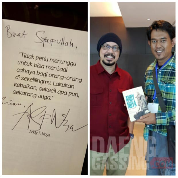 Saat bertemu Andy Noya di Makassar
