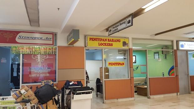 Penitipan tas di bandara Sultan Hasanuddin
