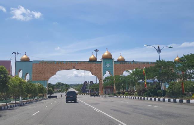 Kawasan kota praja Pasir Pangarain
