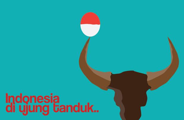 Indonesia di ujung tanduk