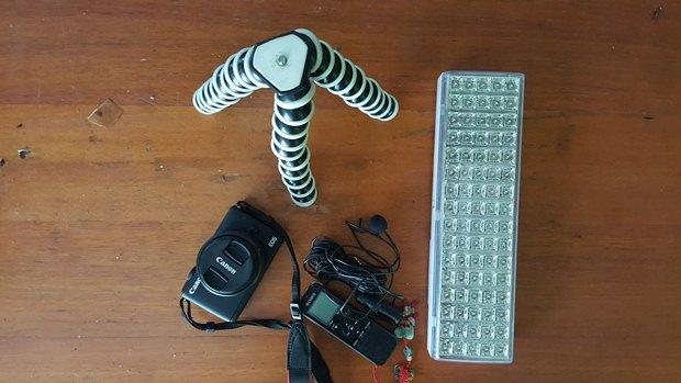 alat-alat vlogging