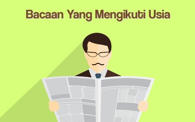 Bacaan Yang Mengikuti Usia