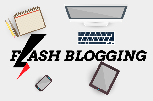 Serunya Flash Blogging