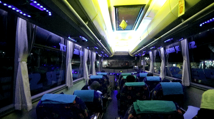 sleeper seat bus