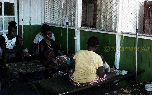 Benang Kusut Masalah Kesehatan di Papua